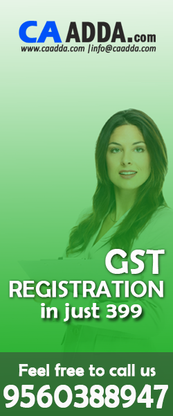 GST Registration in 399 Only