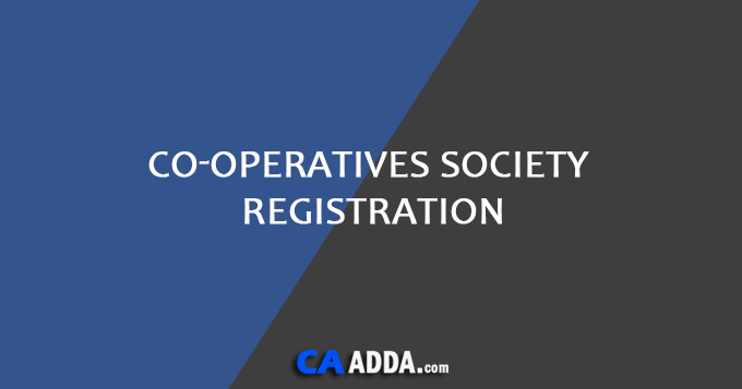 Co-operatives Society Registration