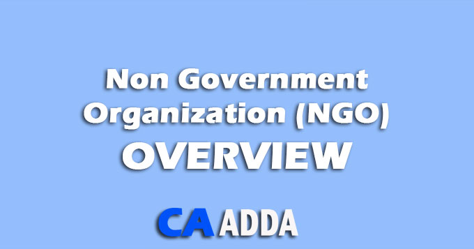 Non Governmental Organisation : Overview