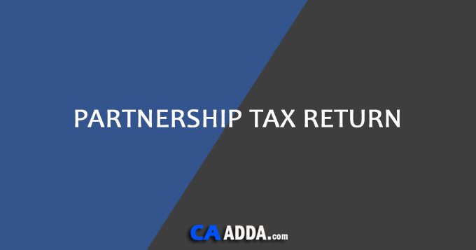 Partnership Tax Return
