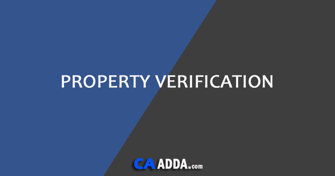 Property Verification